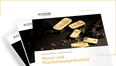 Downloaden Sie die brandneue Investment-Produkte Broschüre von KOOS Edelmetalle als digitalen PDF-Download.